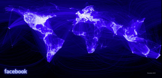 Facebook global traffic