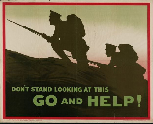 Wales WWI war poster