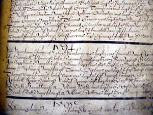 early English ecclesiastical census