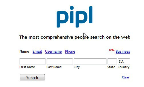 pipl people search